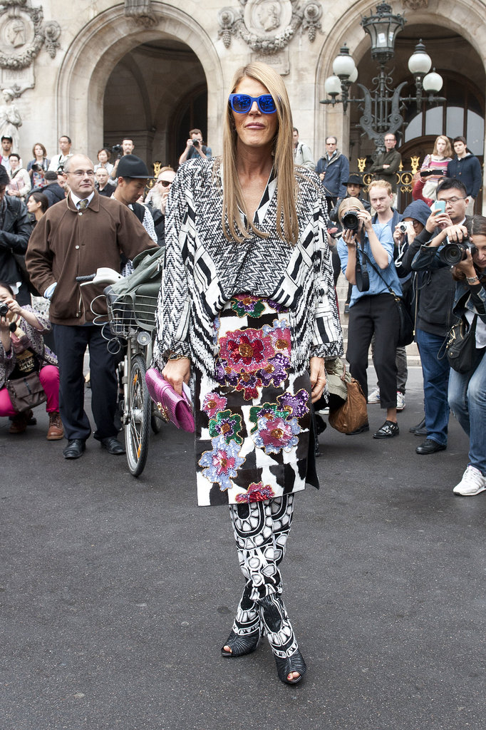 Anna Dello Russo. Monochromatic Patterns.  Diego Zuko.