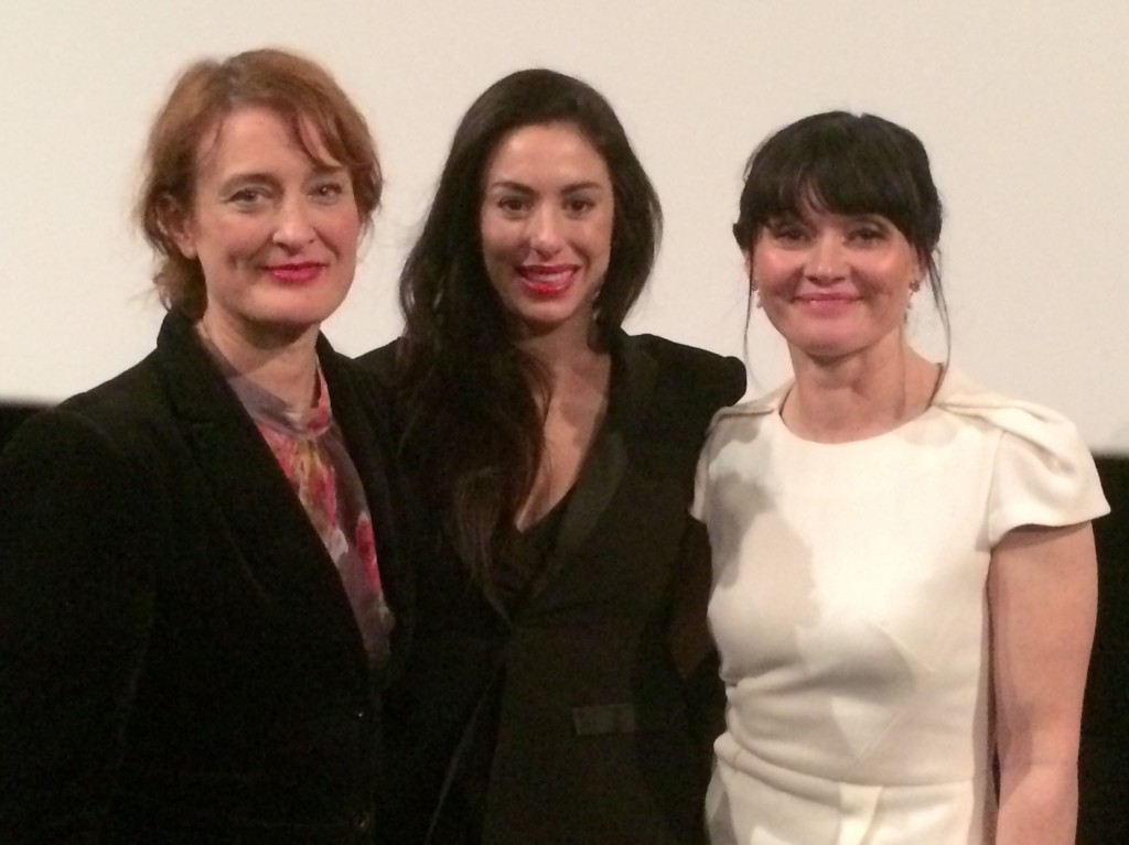 Jennifer Kent, Mary-Kyri and Essie Davis. The Babadook Screening.