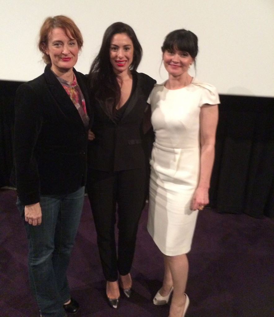 Jennifer Kent, Mary-Kyri and Essie Davis Wearing Mary-Kyri Shoes. The Babadook Screening.