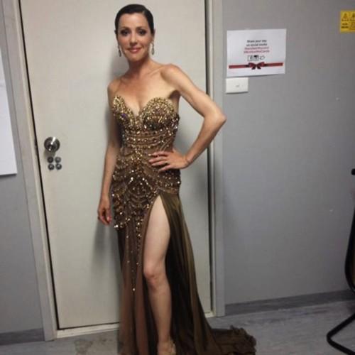 Tina Arena wears Mary-Kyri 'Jorgia'