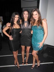 Kim Kardashian, Mary Kyri, Khloe Kardashian