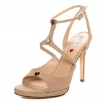 Alla Shoe in Beige