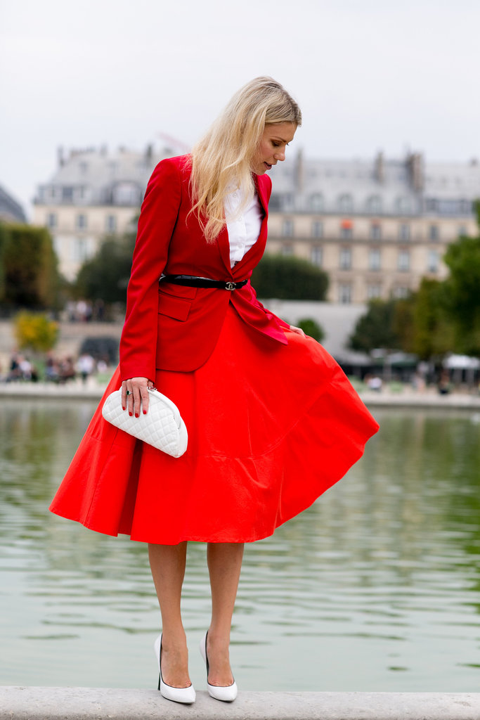 Bold Red Classic Outfit. Vincent Grillo.